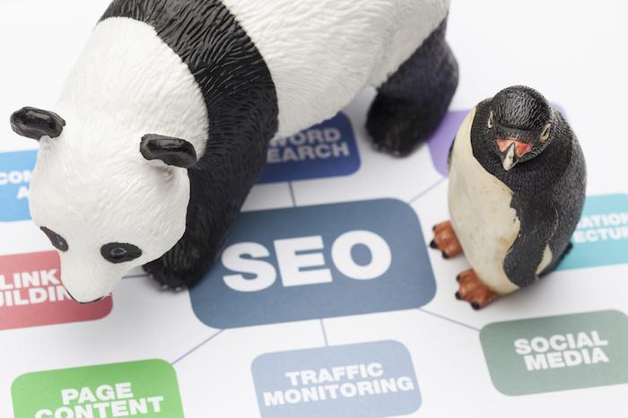 SEO fue afectado por Panda y Penguin